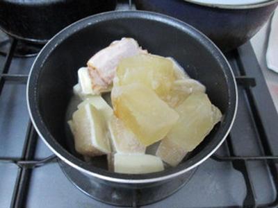 豚骨 with 酒粕スープで実食!