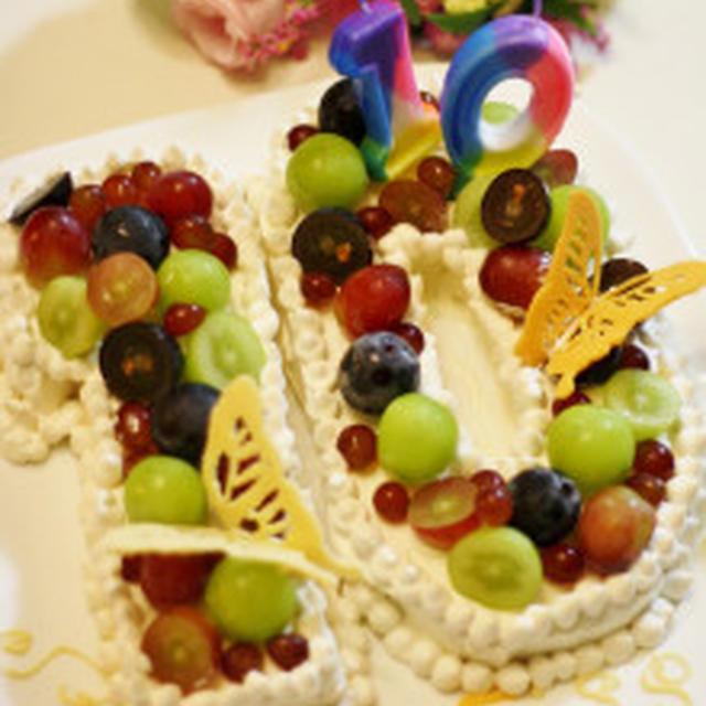 ナンバーケーキ~10歳のお誕生日~