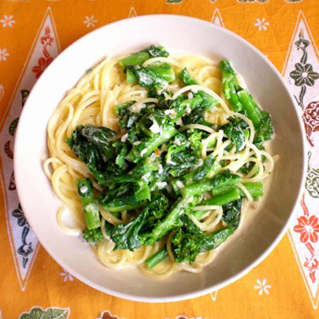 菜の花の豆乳クリームパスタ マスタード風味 & コメントについてのおしらせ