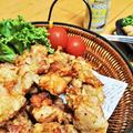 【レシピ】2度揚げがポイント!【鶏のレモンペパー唐揚げ】外カリッ!中ふんわり~★爽やか鶏唐揚げ!
