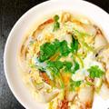 本日の肴〜竹輪と三つ葉の卵とじ