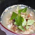 365日汁物レシピNo.93「鯛茶漬け」