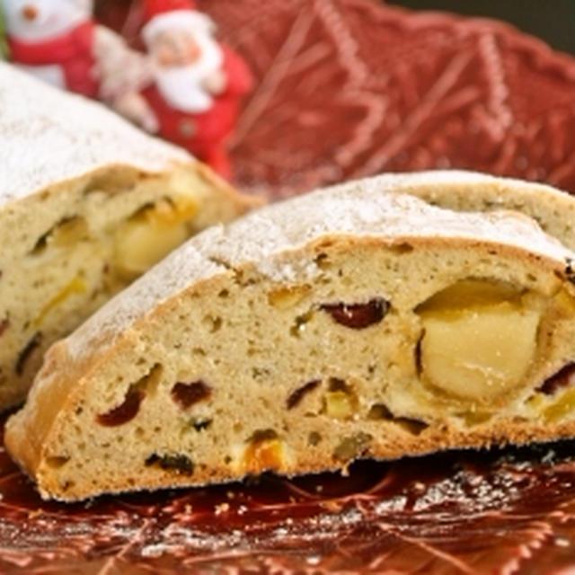 発酵不要 ヘルシー【豆腐シュトーレン】クリスマスの伝統菓子をヘルシーにアップデート!