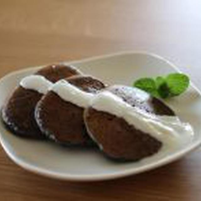 黒ごま&バナナのパンケーキ
