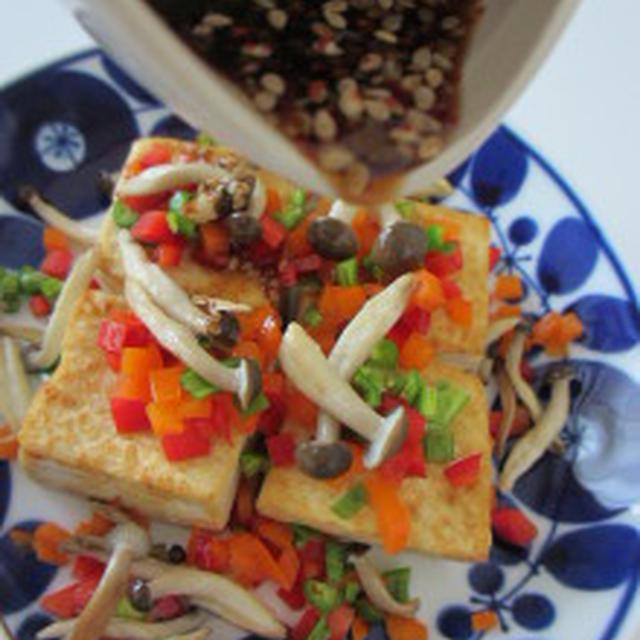 ★色鮮やかなパプリカで豆腐ジョン(파푸리카・두부전)