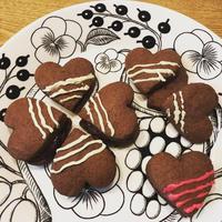 チョコクリームサンドクッキー♪
