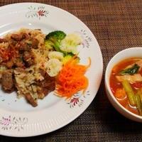 3記事続いて火曜日のごはんはまとめ記事☆ステーキ炒飯♪☆♪☆♪