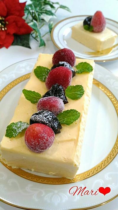 《結婚記念日に》濃☆ホワイトショコラテリーヌ