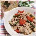 豚肉と季節野菜の中華炒め