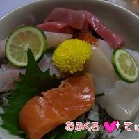 海鮮丼 のれしぴ