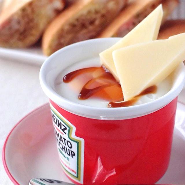 クリームチーズ入りエッグスラット   パパもよろこぶ♪チーズdeおつまみレシピ