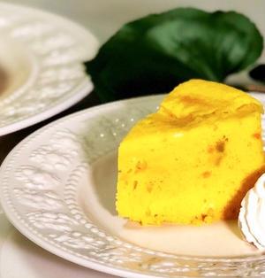 電子レンジで4分!簡単でめちゃ旨『レンチンかぼちゃケーキ』の作り方