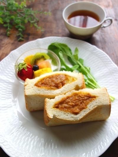 ポケットサンドで簡単☆カレーパン