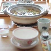 味噌野菜鍋 de 朝ごはん