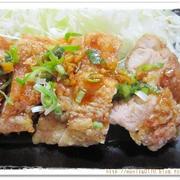 簡単レシピ * 鶏の竜田揚げ ネギ 甘辛生姜ダレ風 *