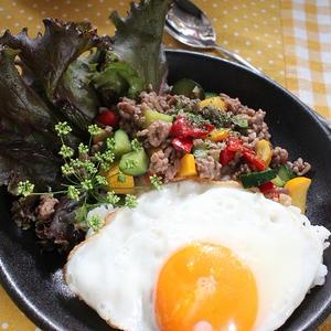 タイのご飯 ガパオライス風