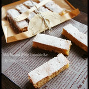 [簡単!混ぜて焼くだけ!] フライパンでミルクティーとホワイトチョコのケーキバー