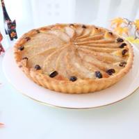 さっくり美味しい『洋梨のフルブラタルト』☆ おもてなしのデザートに♪♪