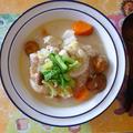 白菜とかぶのホワイトシチュー(食物繊維たっぷり)