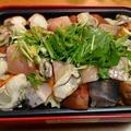 混雑もなく鮮度がいいので☆鰆と牡蠣のホットプレート蒸し♪☆♪☆♪