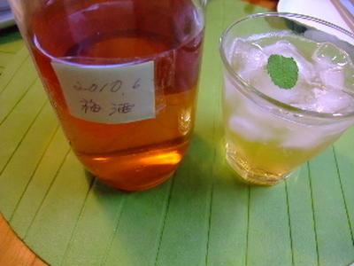 母手作り・・・大吟醸の梅酒