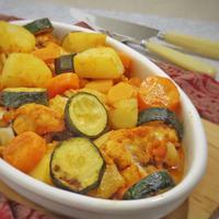 夏野菜deタンドリーチキン