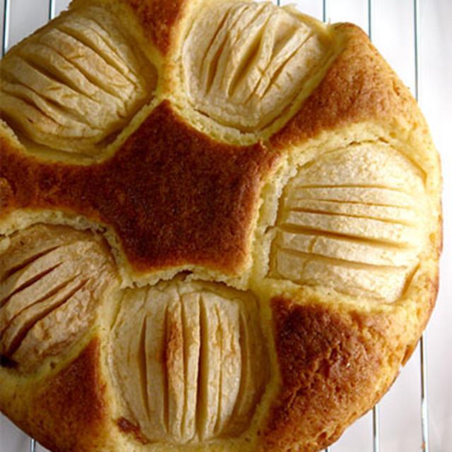 りんごのケーキを焼いてみた