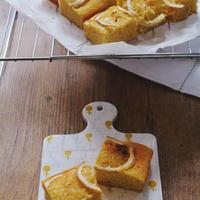 レモンのスクエアケーキ