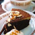 混ぜるだけ☆3層のキャラメル・チョコレートケーキ・フラン。 by Salaさん