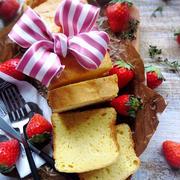 ♡アレンジ自在♡生クリームで作る基本のパウンド♡【#バター不使用#お菓子#簡単#パウンドケーキ】
