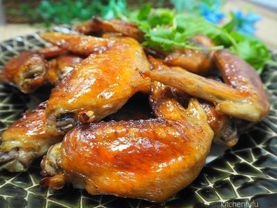 鶏手羽先のオーブン焼き♪皮ぱりっのシンプル味付け