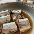 圧力鍋で骨まで食べれるサンマの梅酢煮♪