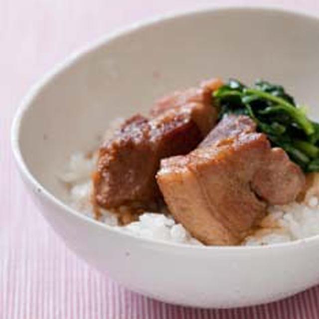 豚肉の煮込み丼
