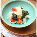 新玉とトマトの韓国海苔おつまみ