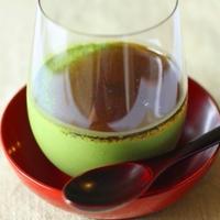 豆腐の抹茶ムースーー豆腐と抹茶の和風ティラミス