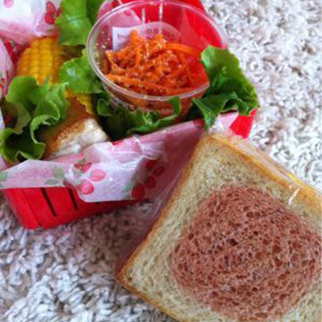 アッパレ!日の丸サンド弁当