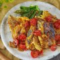 【魚レシピ】ブリのピカタ~フレッシュトマトソース~ by パパイズムさん