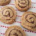 黒ゴマ黄な粉のぐるぐるクッキー