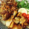 野菜でおやつ!ごぼうのパリパリ揚げと菊芋チップス