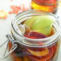 <赤&青林檎と干し芋、林檎の紅茶のフルブラ>