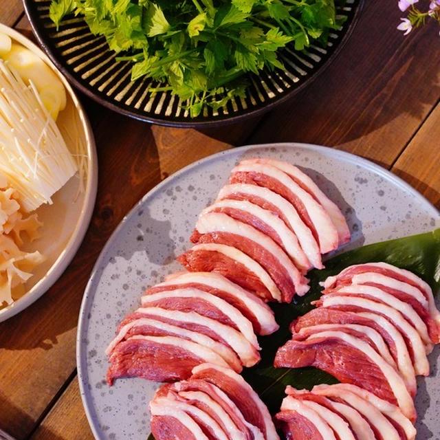 産直の戦利品♪で鴨肉を使ったラクチン鴨鍋レシピ。