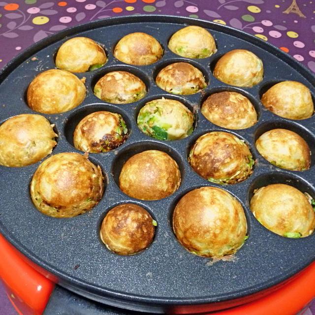 長芋とオクラでトロトロたこ焼き
