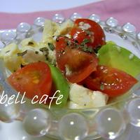 アボガドトマトの豆腐サラダ