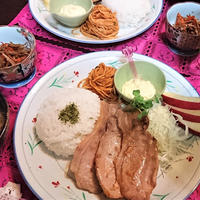 【前じゅんdeスピードおうちごはん】豚生姜焼きde夕食 & きた―――!クリスマスプレゼント!!