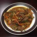 【レシピ】簡単にできて栄養満点!牛バラ肉と春雨の中華風野菜炒め