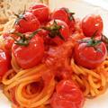 ごろごろトマトのスパゲッティ・アッラ・スカルパリエッロ