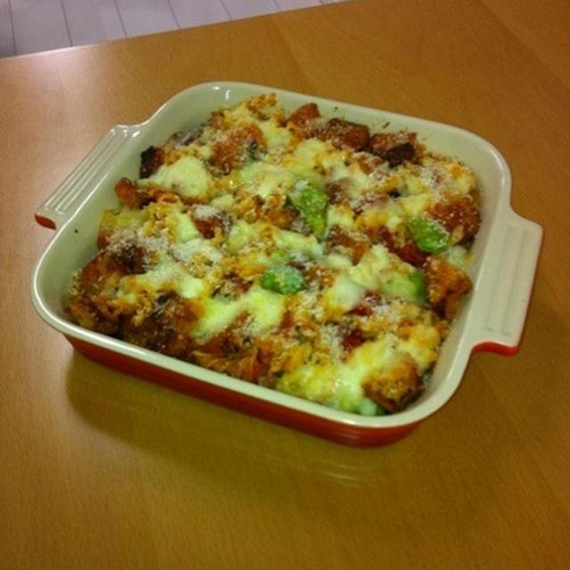 パスタと野菜のオーブン焼き