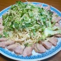 雲白肉冷麺!!!