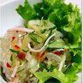 チリソースとナンプラーでタイ風春雨サラダ