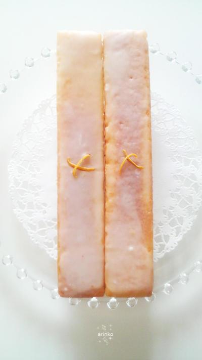 レモンのパウンドケーキ・グラスロワイヤル